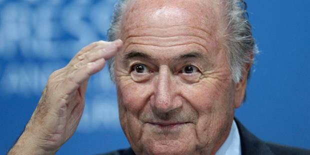 """Sepp Blatter """"très confiant"""" avant son passage devant le TAS - La Libre"""