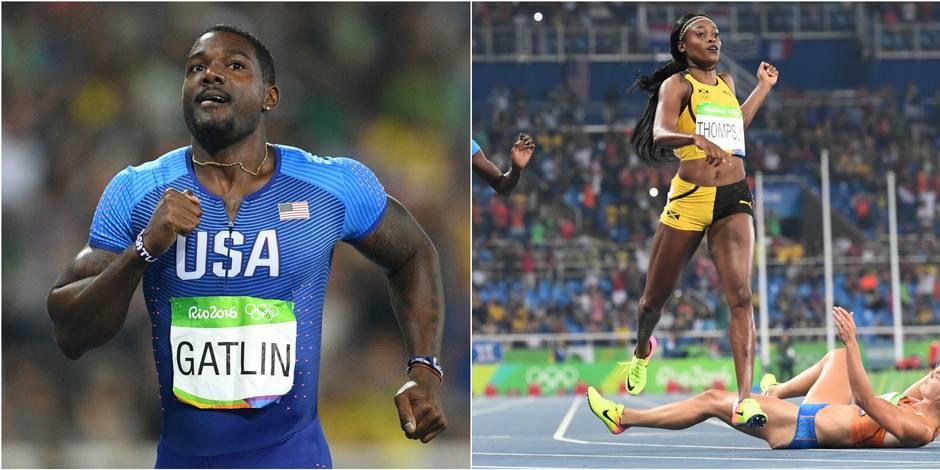 Les perfs de Rio: Bolt qualifié sur 200, pas Gatlin, Elaine Thompson (encore) en or