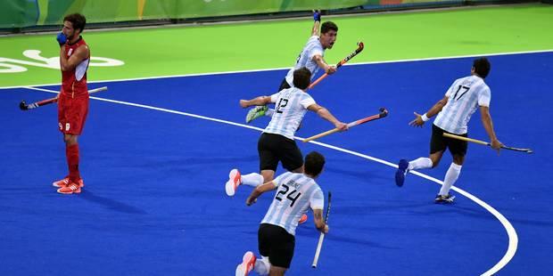 Les Red Lions, battus en finale contre l'Argentine, décrochent la médaille d'argent! (PHOTOS) - La Libre