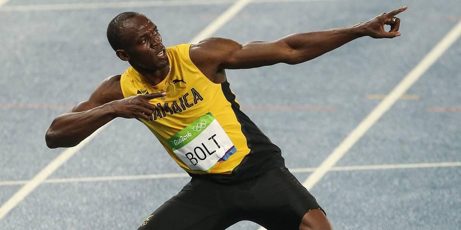 Les perfs du jour à Rio: Usain Bolt fait le doublé
