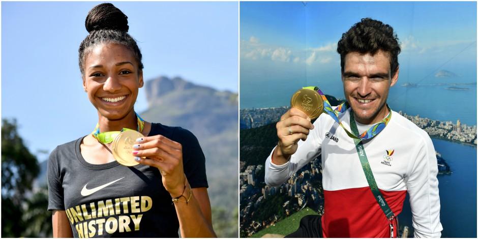 Les médaillés belges paieront l'impôt au fisc brésilien