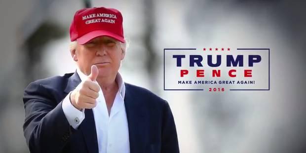 Présidentielle américaine: première publicité télévisée pour le candidat Trump (VIDEO) - La Libre