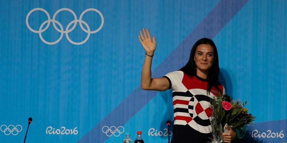 La célébrissime perchiste russe Isinbayeva annonce la fin de sa carrière à 34 ans