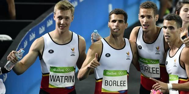 Finale, record et espoir de médaille pour le relais 4x400m belge - La Libre