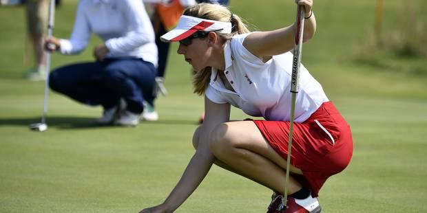 Les Belges à Rio: Leurquin 56e du classement final de golf, Githa Michiels 21e en moutainbike - La Libre