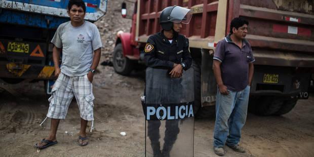 Le Pérou reconnaît l'existence d'un escadron de la mort au sein de sa police - La Libre