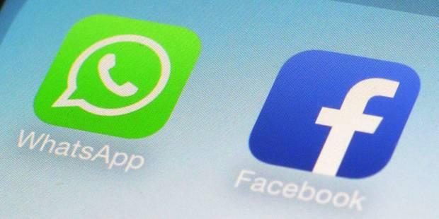 Whatsapp veut partager davantage avec Facebook - La Libre