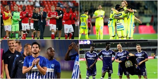 Europa League : Anderlecht s'en sort mieux que le Standard - La Libre
