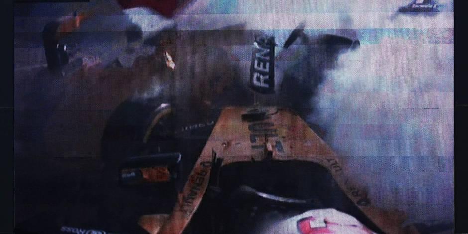 GP de Belgique : énorme crash du Danois Magnussen qui en ressort blessé
