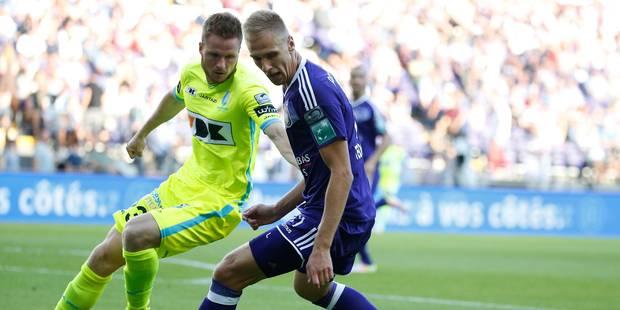 Anderlecht se fait surprendre par La Gantoise dans le temps additionnel (2-2) - La Libre