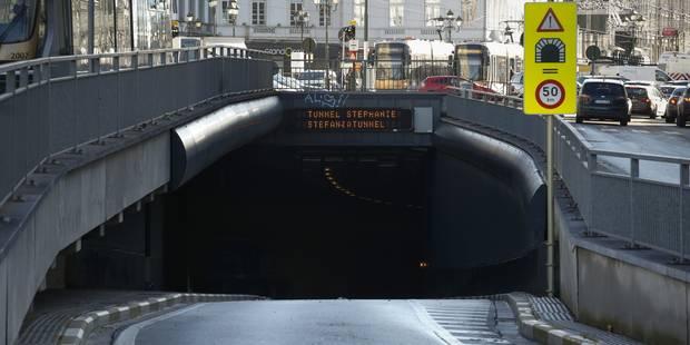 Le tunnel Stéphanie à nouveau ouvert à la circulation - La Libre