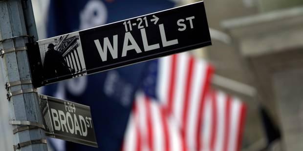 Wall Street finit en hausse après de bons chiffres sur la consommation - La Libre