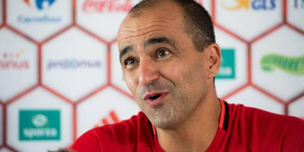 """Roberto Martinez: """"Le résultat du match contre l'Espagne n'a aucune importance"""" (VIDEOS) - La Libre"""