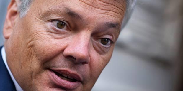 """Reynders sur le TTIP: """"Il reste encore des efforts à fournir de la part des Etats-Unis"""" - La Libre"""
