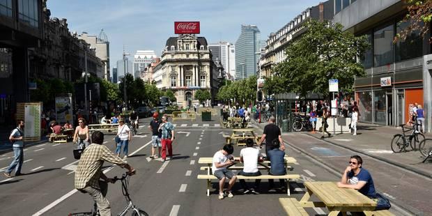 Piétonnier de Bruxelles: deux projets de parking abandonnés - La Libre