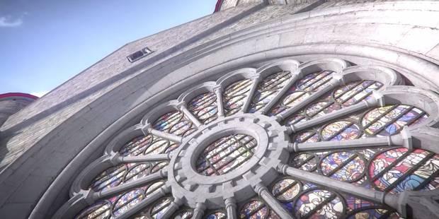 La cathédrale de Tournai comme vous ne l'avez jamais vue (VIDÉO) - La Libre