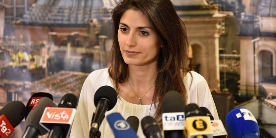 Rome: la maire Virginia Raggi en pleine tourmente