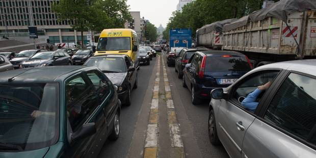 Le tunnel Léopold II direction Midi a rouvert - La Libre