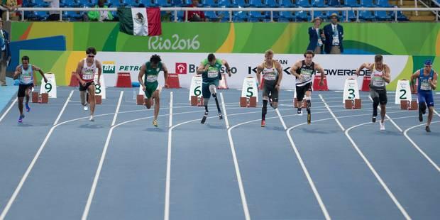 Le photographe aveugle des Jeux Paralympiques de Rio - La Libre