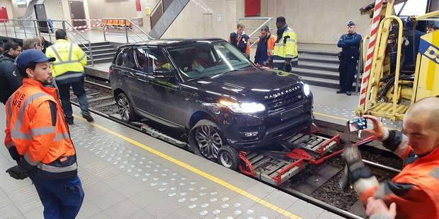 Range Rover dans le prémétro: la facture s'élève à 22.000€ - La Libre