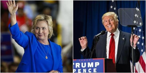 """Présidentielle américaine: qui choisir entre une """"sectaire"""" et un """"amateur""""? - La Libre"""