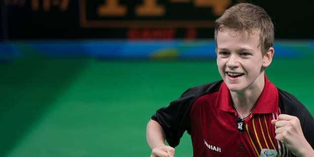 Jeux Paralympiques: Laurens Devos remporte la médaille d'or en tennis de table - La Libre