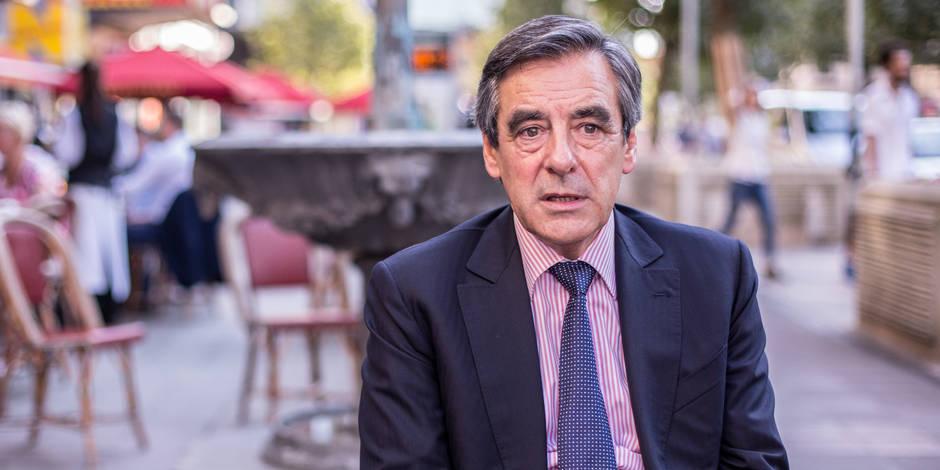 """Fillon à LaLibre.be: """"Les Français sont assoiffés de liberté"""""""