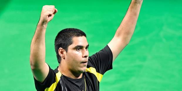 Jeux Paralympiques: Florian Van Acker médaille d'or en tennis de table - La Libre
