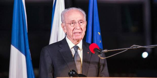 Le prix Nobel de la paix Shimon Peres dans un état très grave - La Libre