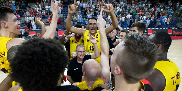Basket: les Lions se qualifient pour l'Euro 2017 après leur victoire sur la Suisse - La Libre