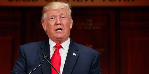 Trump promet un avenir économique radieux avec 4% de croissance annuelle - La Libre
