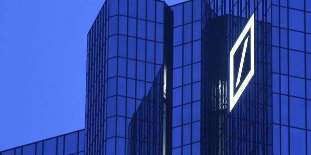 """""""Subprimes"""": Deutsche Bank encourt une amende de 14 milliards de dollars aux Etats-Unis - La Libre"""