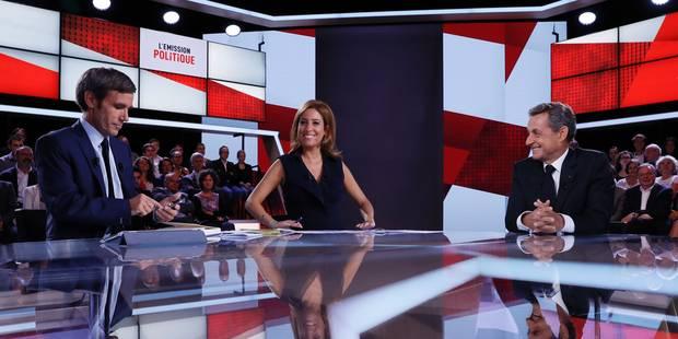Nicolas Sarkozy a-t-il eu peur de Charline Vanhoenacker ? - La Libre