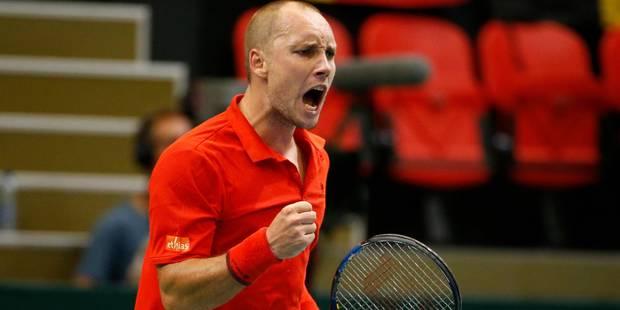 Coupe Davis: Darcis se défait de Bellucci et offre son 2e point à la Belgique - La Libre