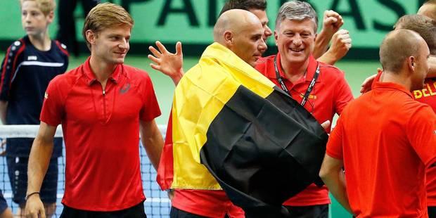 Coupe Davis: Joris De Loore bat Thomaz Bellucci, la Belgique bat le Brésil 4-0 - La Libre