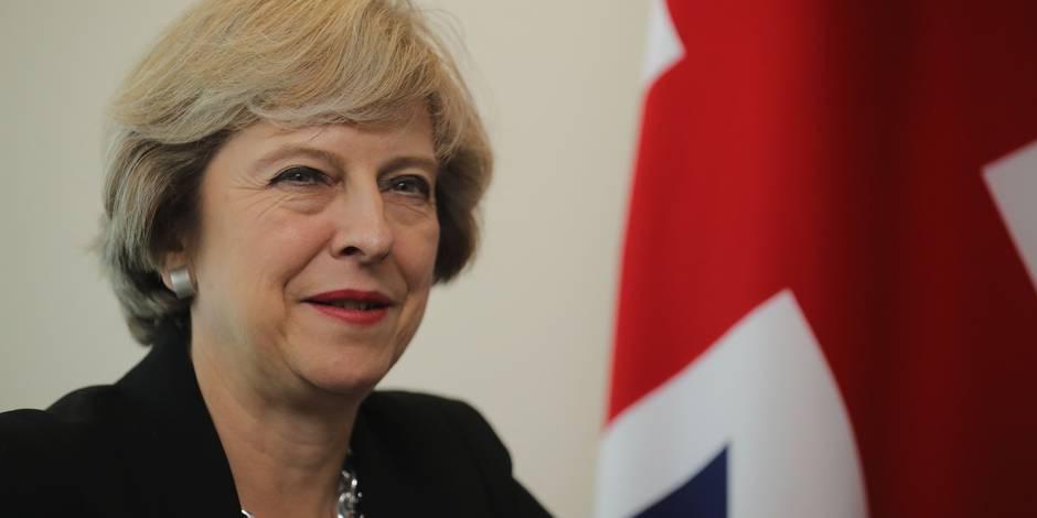 Brexit: Theresa May a rencontré des dirigeants de Wall Street