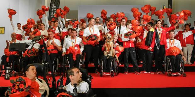 Jeux Paralympiques: retour triomphal pour la délégation belge (PHOTOS) - La Libre