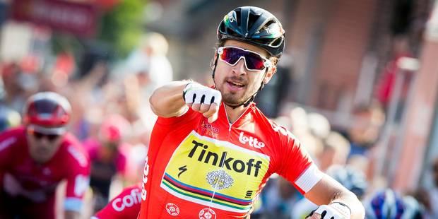 Eneco Tour: Sagan impressionne à moins d'un mois des Mondiaux - La Libre