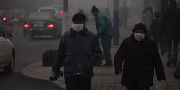 Santé: 92% de la population mondiale respire un air ambiant trop pollué - La Libre