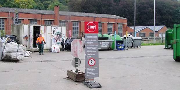 Walcourt: Le parc à conteneurs de plus en plus embouteillé - La Libre
