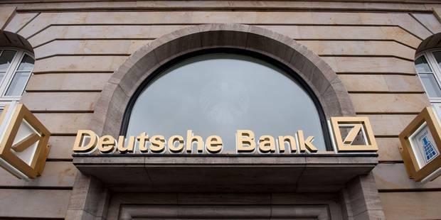 Les inquiétudes concernant Deutsche Bank en 5 questions - La Libre