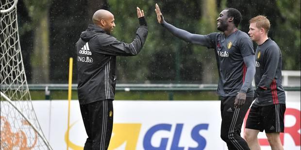 """Romelu Lukaku à Thierry Henry: """"Je dois être plus décisif"""" - La Libre"""