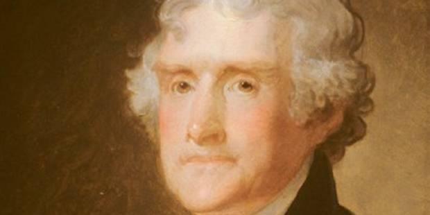 Vie, liberté, bonheur: un portrait amoureux de Thomas Jefferson - La Libre