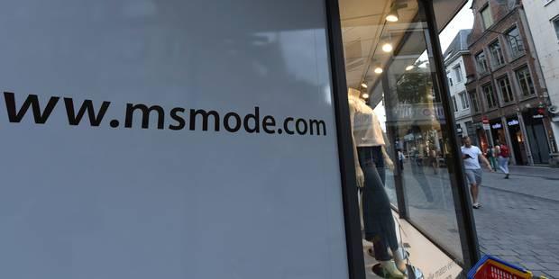 Un repreneur trouvé pour MS Mode en Belgique - La Libre