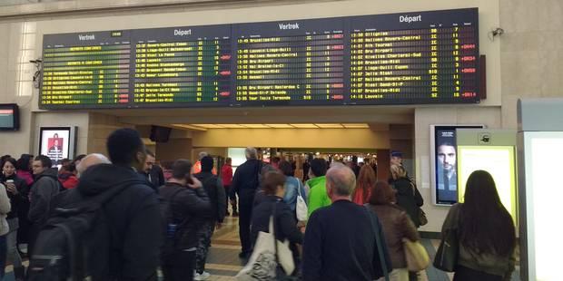 L'alerte à la bombe à la gare du Nord complique considérablement l'heure de pointe du soir - La Libre
