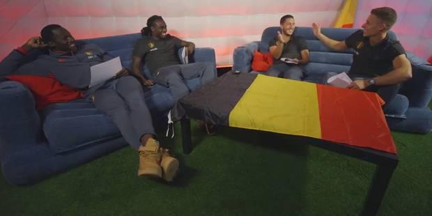 Artistes préférés, colles à l'école: quand les frères Lukaku et Hazard s'affrontent dans un quiz (VIDEO) - La Libre