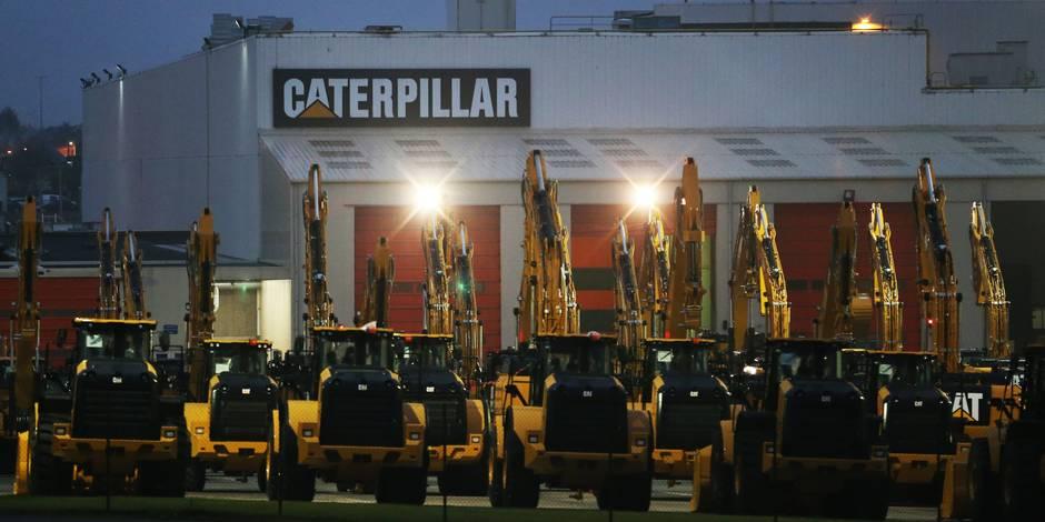 Fermeture de Caterpillar Gosselies: 21 machines seront expédiées cette semaine