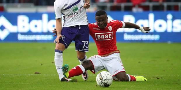Collins Fai (Standard) suspendu deux matchs, 1.000 euros d'amende pour le Club de Bruges - La Libre