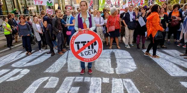 Le Parlement de la Fédération Wallonie-Bruxelles confirme son veto au CETA - La Libre