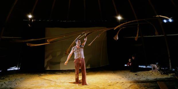 Les réfugiés s'échouent au Théâtre d'un Jour - La Libre